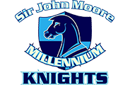 Sir John Moore Community School logo