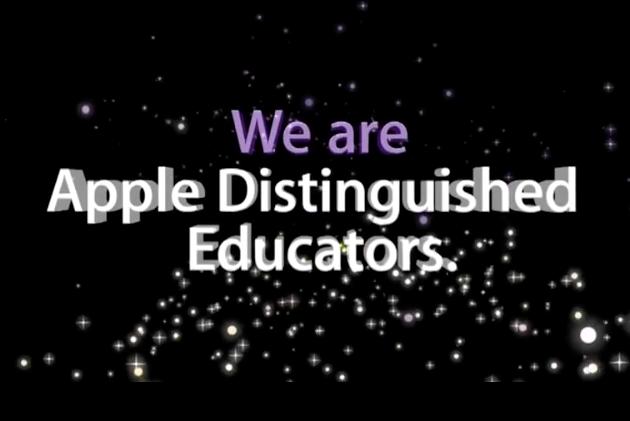 We are Proud to be an Apple Distinguished School