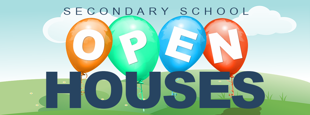 Welcome to our Secondary School Open House information for the 2021-2022 School Year!