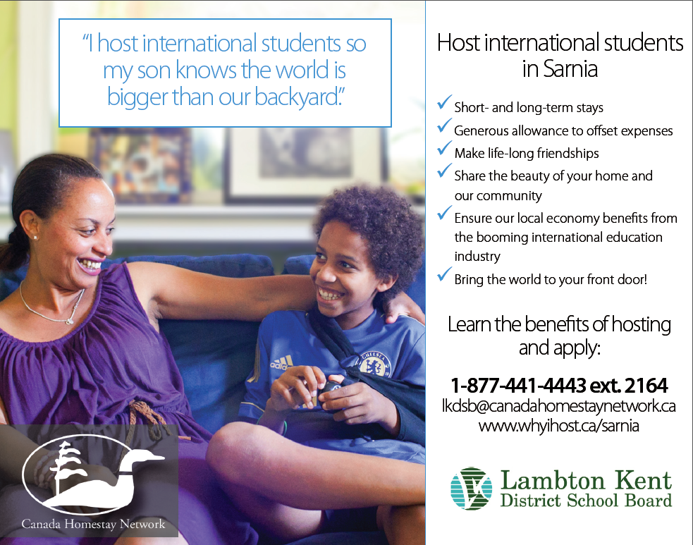 Host an International Student!