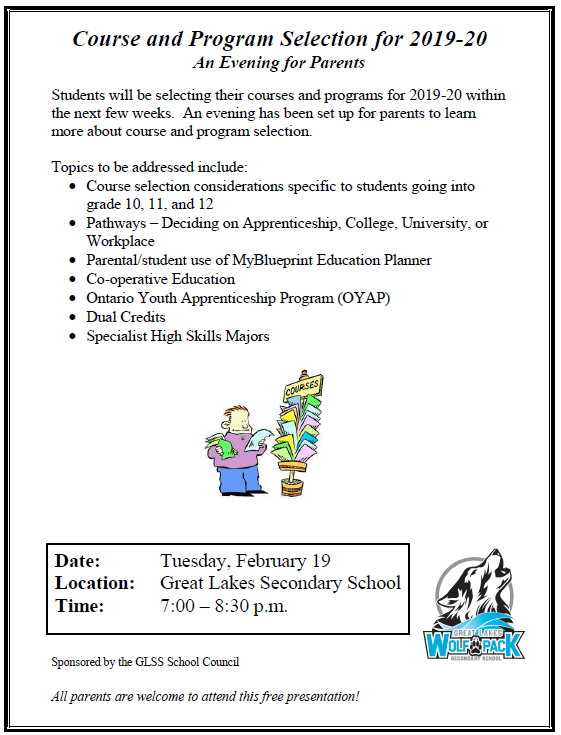 Event Archive - Great Lakes Secondary School
