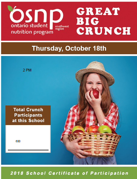 Great Big Crunch Event