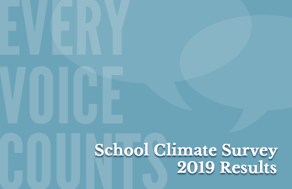 2019 School Climate Survey Results