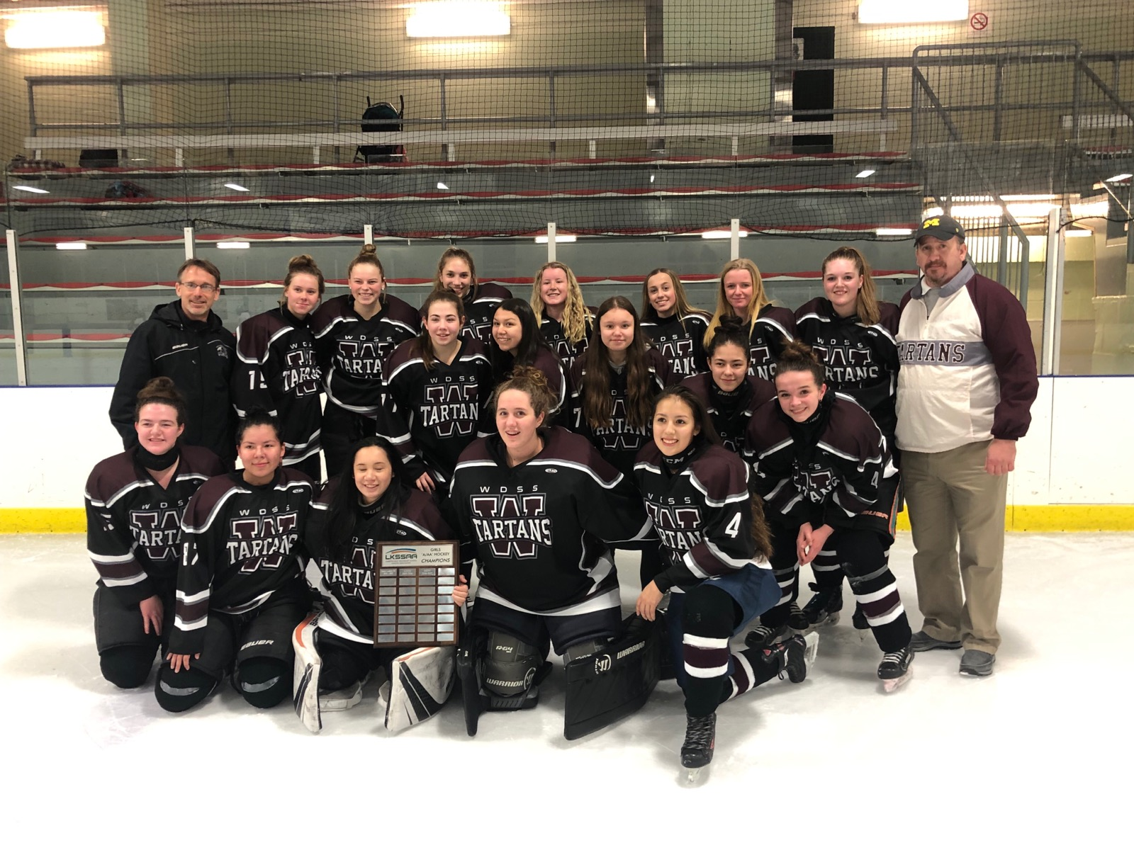 Girls Hockey LKSSAA Champs