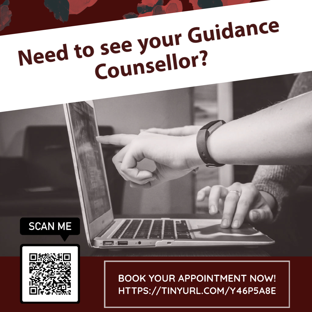 NEW! Book your Guidance appointments online.