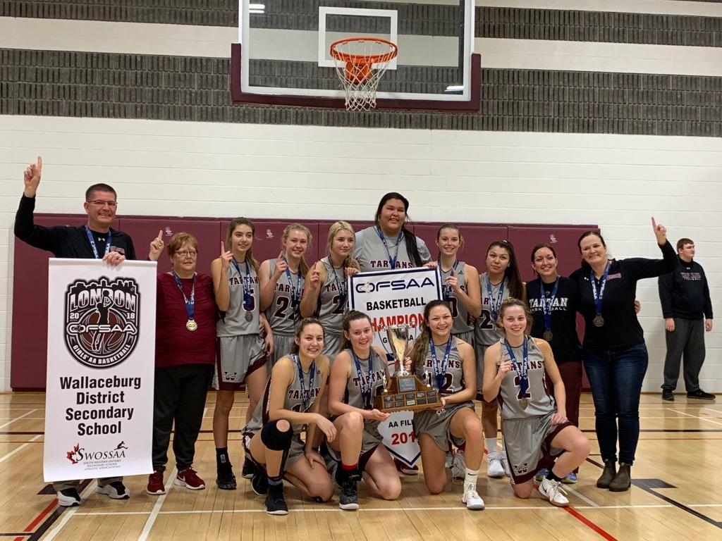 Senior Girls Basketball OFSAA Champions