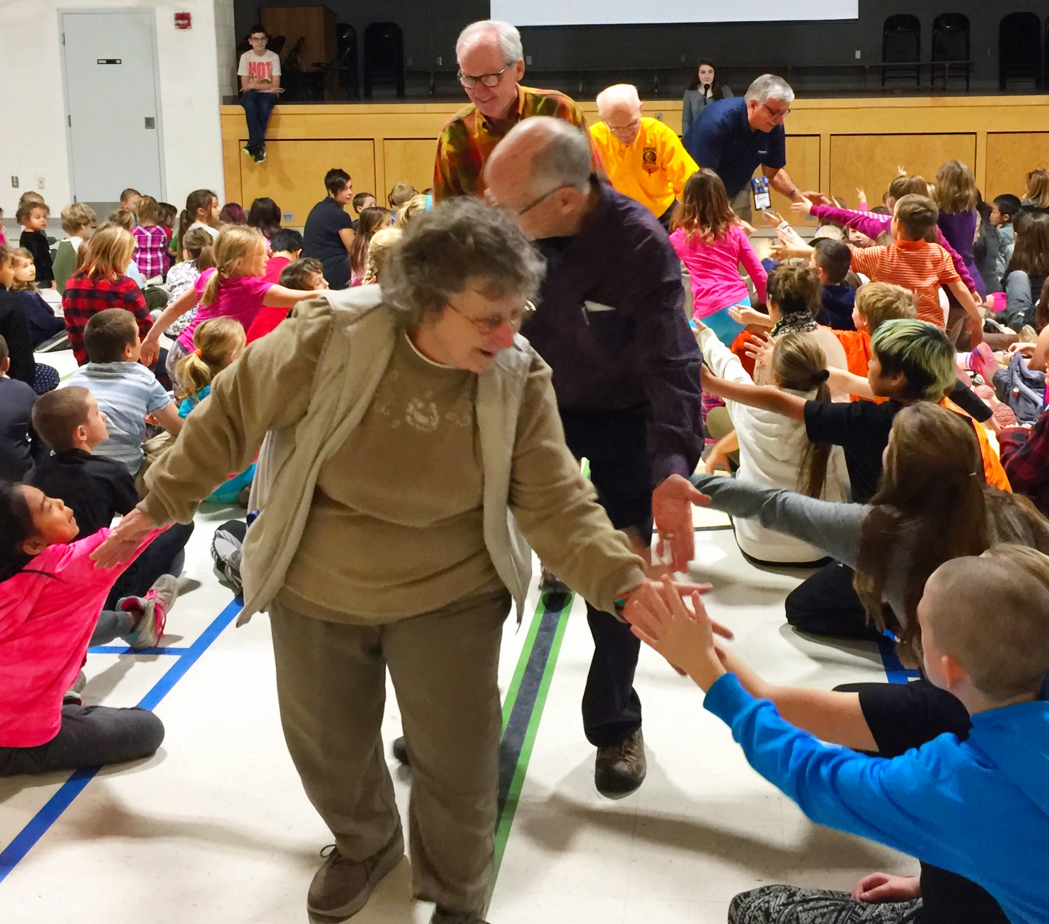 Kiwanis Partnership With P.E. McGibbon Shows Heart
